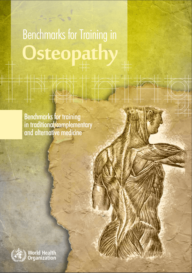 Benchmarks for Training in Osteopathy